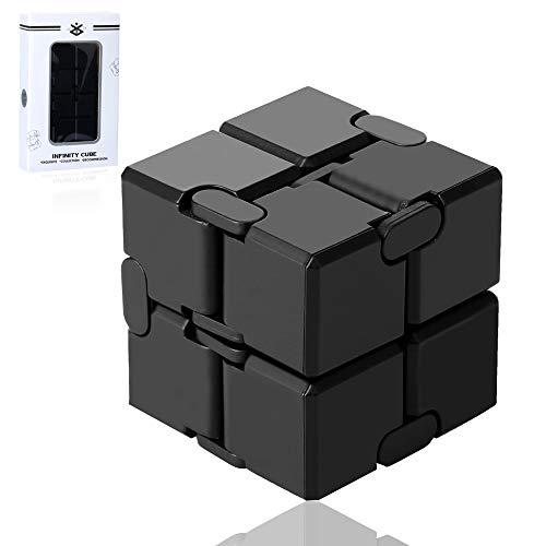 Funxim Infinity Cube, Unendlicher Würfel Spielzeug, Magic Unendlicher Flip Würfel Dekompression Spielzeug, Tötungs Zeit Zappeln Spielwaren Stressabbau Würfel