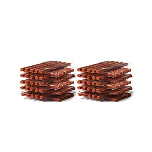 LSANS 50/100 unids Coche Tiro de retención Transposición de la Tira del neumático sin Tubo Parche para el Mantenimiento de los neumáticos Ruedas PUNTURA Sello de Enchufe (Color : 100pcs)