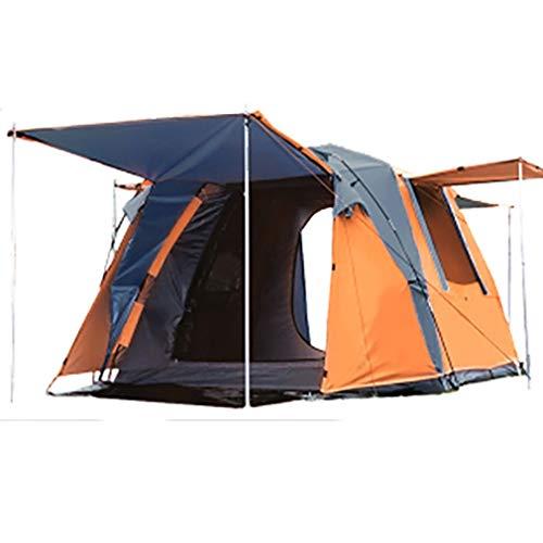 XY-M Schnellaufbauzelt,3-4 Personen Leichtes Zelt, Wasserdicht Winddicht, UV-Schutz, Perfekt Für Strand, Outdoor, Reisen, Wandern, Camping, Jagen, Angeln