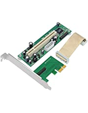 Jeirdus Tarjeta Adaptadora PCI Express a PCI - Adaptador PCIe a PCI con soporte de perfil bajo/altura media