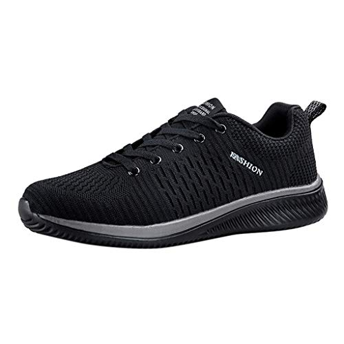 Laufschuhe Herren, Männer Ultraleicht Sportschuhe Turnschuhe,Leichte Atmungsaktiv Sneaker Turnschuhe,UnisexTraillaufschuhe Straßenlaufschuhe Dasongff