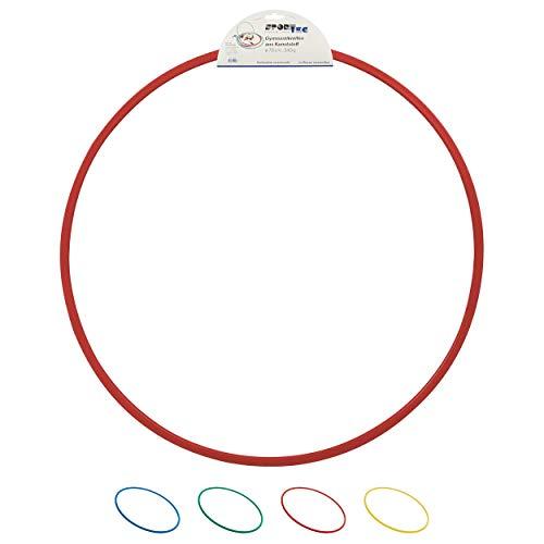 Sport-Tec Gymnastikreifen aus Kunststoff, Hula Hoop, Trainingsreifen, Turnreifen, 70 cm