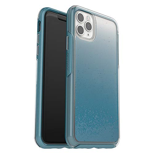 OtterBox SYMMETRY CLEAR SERIES Case for iPhone 11 Pro Max - WE'LL CALL BLUE (CLEAR/BLUE SAPPH MET/WE'LL CALL BLUE IML)