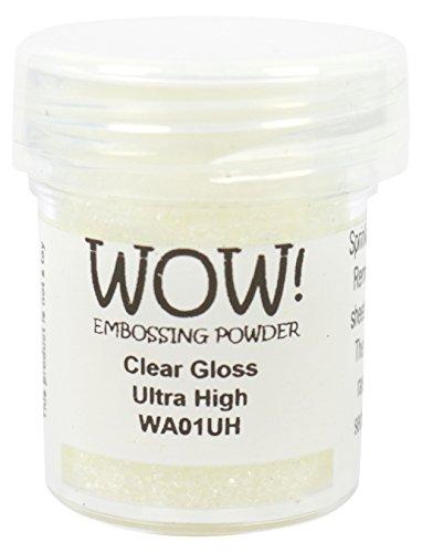 WOW Clear Gloss-Ultra High, Embossing Powder, Multi-Colour, 5 x 3 x 3 cm