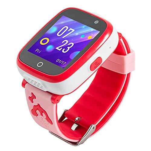 Reloj Inteligente Niño ZWRY Reloj Inteligente para niños con Juegos Reloj para teléfono para niños Reloj Inteligente Tarjeta SIM 2G Reloj para cámara fotográfica Regalo de cumpleaños para niña