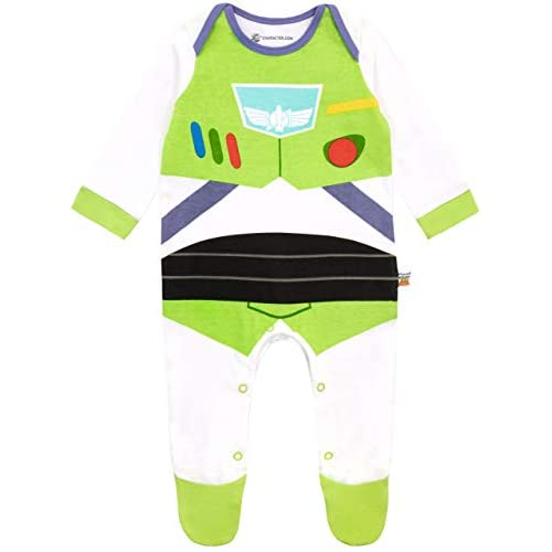 Disney Tutina da Notte per Bambino Toy Story - Il Mondo dei Giocattoli Buzz Lightyear Multicolore 0-3 Mesi
