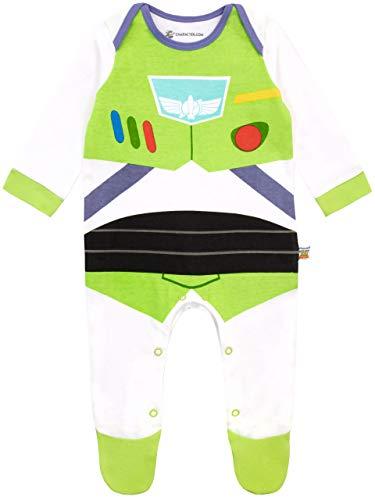 Disney Pijama Entera para Niños Bebés Toy Story Buzz Lightyear Multicolor 3-6 Meses