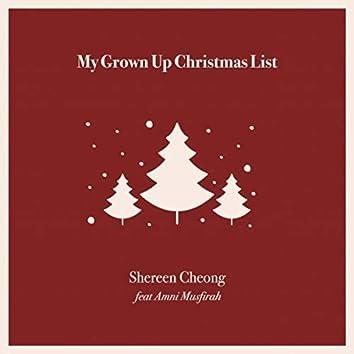 My Grown-up Christmas List (feat. Amni Musfirah)