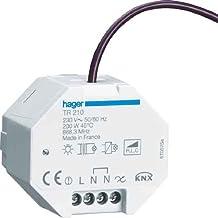 Reguladores Regulador de intensidad, Integrado, Giratorio, Antracita, De pl/ástico, Termopl/ástico Hager 11371606 Integrado Regulador de intensidad Antracita regulador