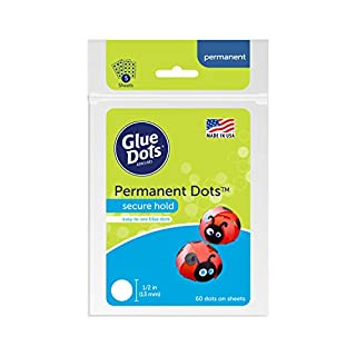 Glue Dots OF111PERM Sheet 60CT Permanent Acid Free, 1 Pack, Multicolor (B000Y00T20)   Amazon price tracker / tracking, Amazon price history charts, Amazon price watches, Amazon price drop alerts