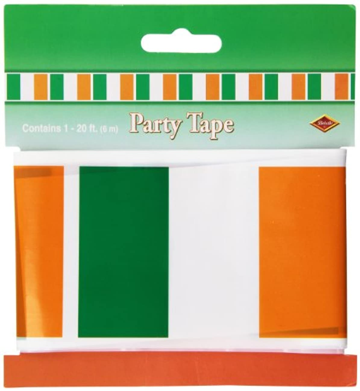 Irish Flag Party Tape Party Accessory (1 count) (1/Pkg)