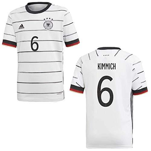 adidas DFB Deutschland Trikot Home Kinder Euro 2020 - KIMMICH 6, Größe:128