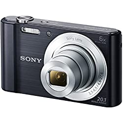 Sony Dsc W810 Digital Camera 20 1 Megapixel 6x Optical Camera Photo