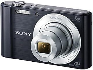 Sony DSC-W810 - Cámara compacta de 20.1 Mp (pantalla de 2.7 zoom óptico 6x estabilizador digital) negro