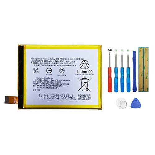 SWARK Akku LIS1579ERPC Kompatibel mit Sony Xperia Z3+ Z4 C5 E6553 Z3 Neo SO-03G Batterie with Tools