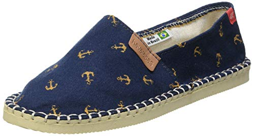 Havaianas Origine Beach, Espadrille Wedge Sandal Unisex-Adulto, Navy Blue, 38