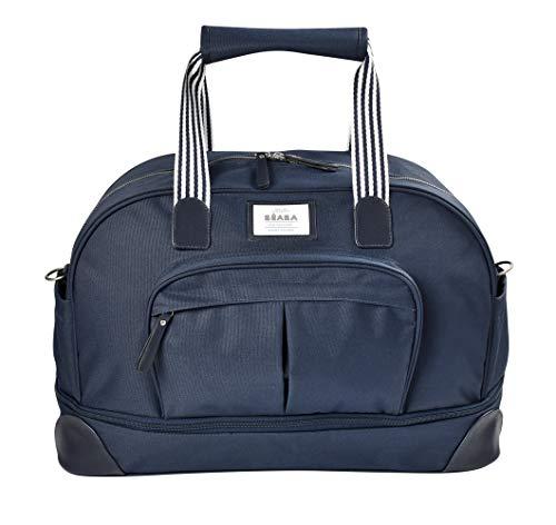 Béaba Amsterdam II 940253 - Bolso cambiador de viaje para bebé, gran capacidad, color Azul