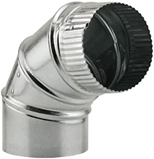 Ideal-Air 750100 Adjustable 90 Degree Elbow, 4