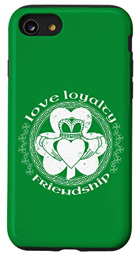 iPhone SE (2020) / 7 / 8 Claddagh Ring Symbol Irish Shamrock Celtic St Patrick's Day Case