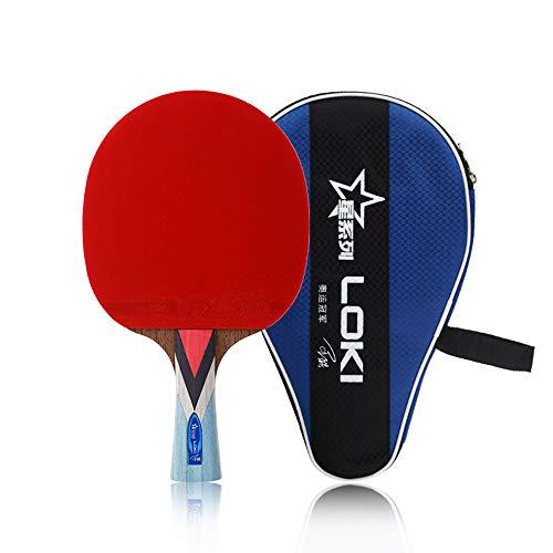 Find Bargain Loki Star Series 4 Star Table Tennis Racket - Junior and Intermediate Ping Pong Racket|...