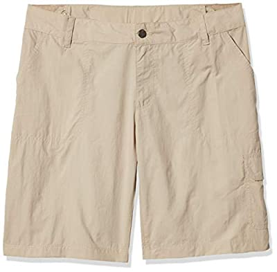 Columbia Women's Silver Ridge 2.0 Cargo Short, Fossil, 10x10