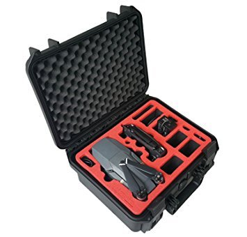 Professionele transportkoffer geschikt voor DJI Mavic Pro en Platinum met ruimte voor 4 accu's en accessoires van MC-CASES - Made in Germany - Outdoor koffer - IP67 waterdicht - 5 jaar garantie - Compact V2.0