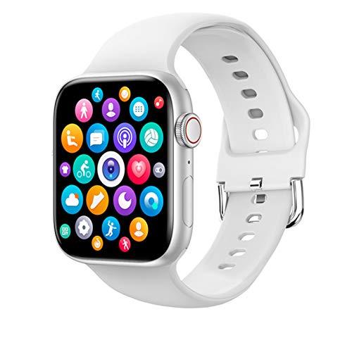 LJMG T800 Smart Watch 2021 Mujer Hombre Bluetooth Llamada Full Touch DIY Reloj Cara Fitness Pulsera PK W56 Serie 6 para IOS Android, B