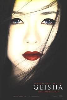 Memoirs of Geisha Advance Movie Poster Double Sided Original 27x40