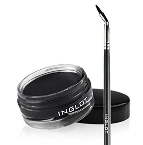 Inglot AMC Eyeliner Gel 77 and Inglot Brush 30T by Inglot