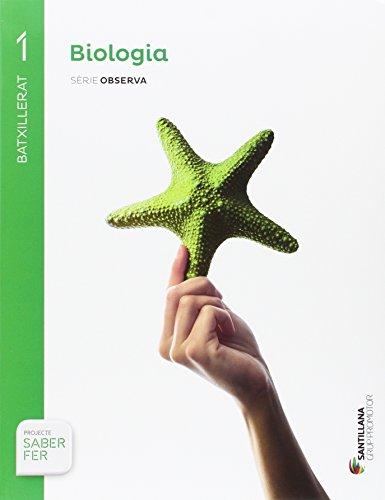 BIOLOGÍA SERIE OBSERVA 1 BTX SABER FER - 9788491302735