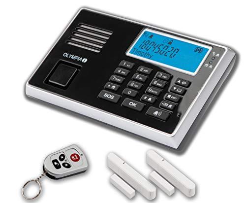 OLYMPIA Protect 9030 Drahtloses GSM Alarmanlagen-Set