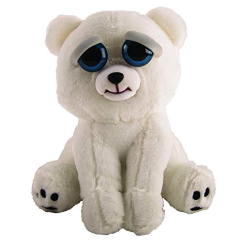 Mac Due Italy Peluche Feisty Pets Orso Polare, Colore Bianco, 323636