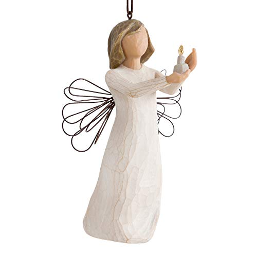 Willow Tree Enesco Figurina Sospensione Angelo della Speranza, Resina, Design di Suzan Lordi, 10.5...