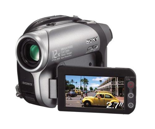 Sony DVD Handycam DCR-DVD202E - Videocámara (CCD, 1.07 MP, 1/0.217 mm (1/5.5
