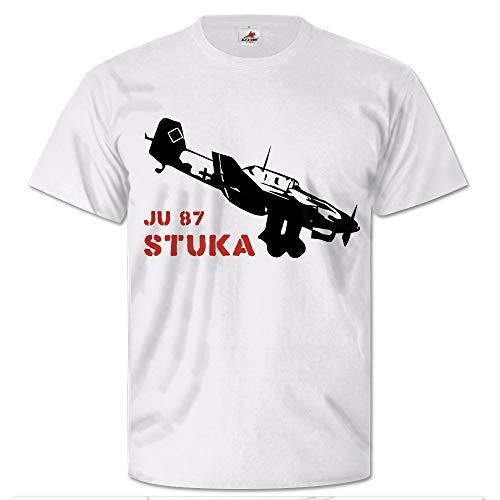 Stuka Ju 87 luchtwapen vliegtuig valgevecht Bomber WK 2 - T-shirt #26403