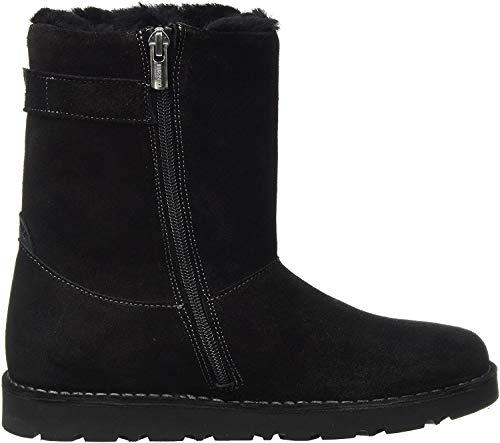 BIRKENSTOCK Shoes Damen Westford Stiefel, Schwarz Black, 41 EU