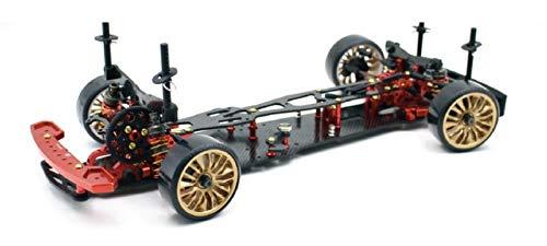 RC Auto kaufen Drift Car Bild: ABSIMA 12101 12101 Absima 1 10 RC Elektro Auto Drift Onroad DRR 01 metallic red 2WD Rolling Chassis, Mehrfarbig*