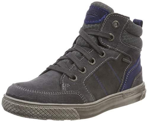 Superfit Jungen Luke Hohe Sneaker, Grau (Grau/Blau 20), 38 EU
