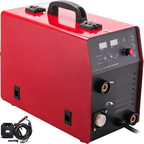 VEVOR Compresor Aire MIG Compresor Aire Silencioso 3-en-1 IGBT Inversor de Soldador Gas/Gasless MMA Compresor Aire PortatilI GBT Compresor Aire Électrico Compresor Aire Coche Portatil Compresor
