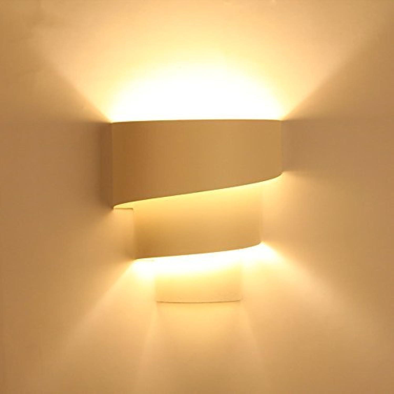 JINQD HOME Modernes minimalistisches Wandlicht beleuchten, modernes einfaches beleuchtendes künstlerisches Metallwei gemalt für Wohnzimmer-Studienraum-Büro-Schlafzimmer-Korridor E27 Wandleuchte, Haup