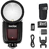 Godox V1-N Round Head Camera Flash Speedlite, TTL...