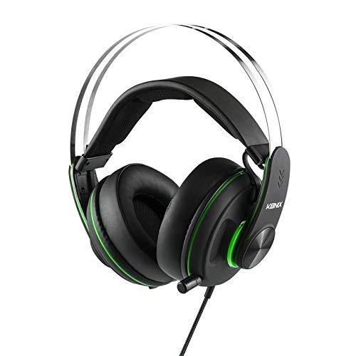 Konix MS-600 Gaming-koptelefoon Xbox One compatibel met PC, PS4 - hoge kwaliteit audio en ruisonderdrukking, Xbox One Jack - kussen en beugel voor optimaal comfort - telescopische hoofdtelefoon