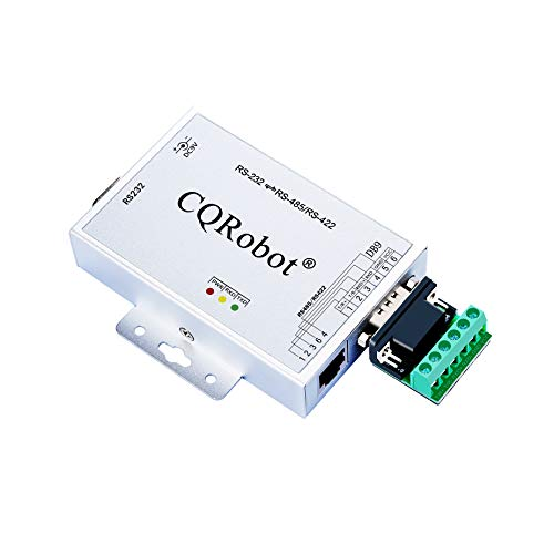 Active RS232 to RS422/RS485 Serial Converter Bidirectional Converter Adapter. Supports 600W Anti-surge and 15KV ESD Protection, DCPC Function, Baud Rate Adaptive, Support 32 nodes, LED indication.