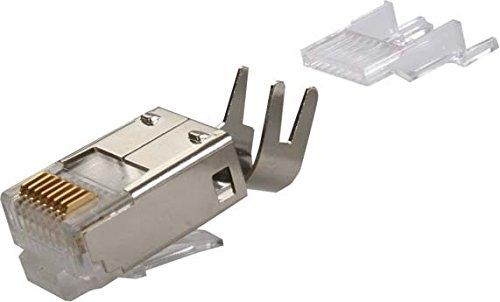 Telegärtner Kat.6 RJ45 Stecker, vollgeschirmt, MP8 FS