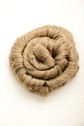 WIG ME UP - Extension chignon blond cendré forme de spirale 14 cm 90047L-24