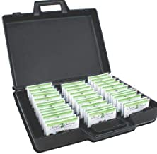 Name Badge Productions - 17 x 13 x 4 1/2 Inch Badge Attache - 2 Click to Lock Latches - Easy Carry Handle - Holds 60 Badges