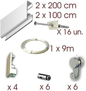 MARCS ARIAS SL Pack Basic RM de 6 Metros Guías de Aluminio
