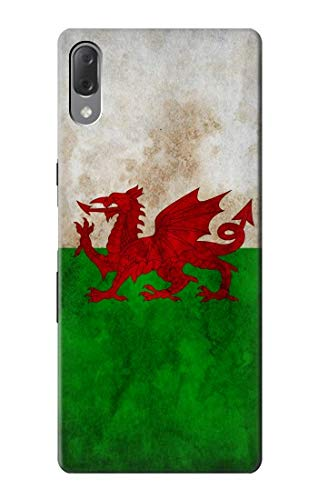 Innovedesire Wales Football Soccer Red Dragon Flag Hülle Schutzhülle Taschen für Sony Xperia L3