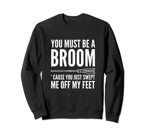 me balayé Charme et Joker Sweatshirt