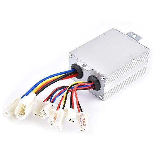 Control de velocidad del motor, 24 V, 500 W, repuesto para patinete eléctrico, triciclo, cepillo de motor